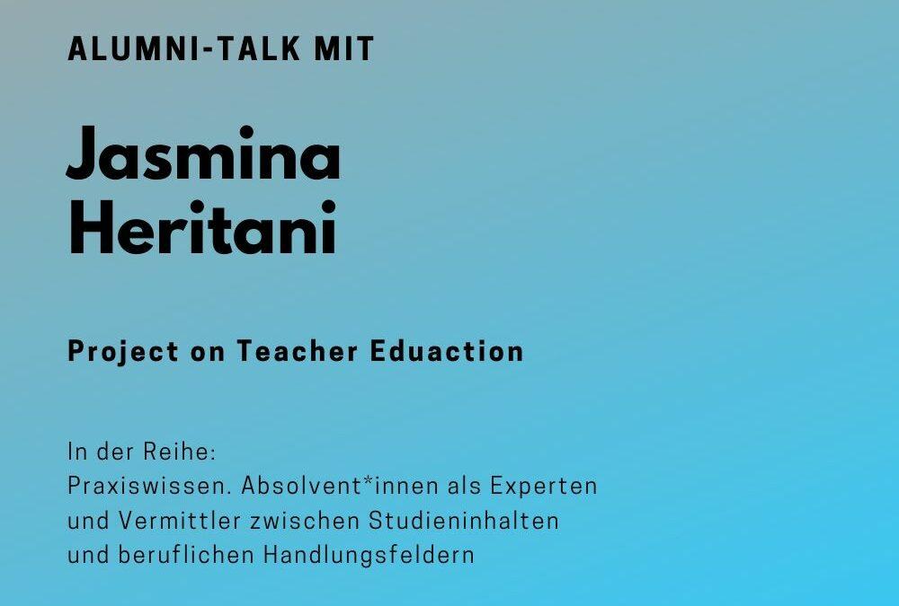 Talk mit Jasmina Heritani