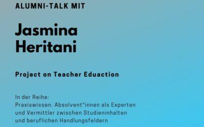 Alumni Talk mit Jasmina Heritani