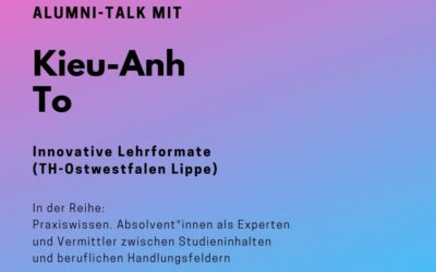 Alumni Talk mit Kieu-Anh To
