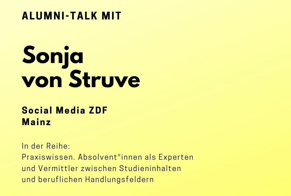 Talk mit Sonja von Struve