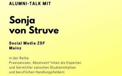 Alumni Talk mit Sonja von Struve