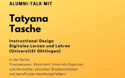 Alumni Talk mit Tatyana Tasche