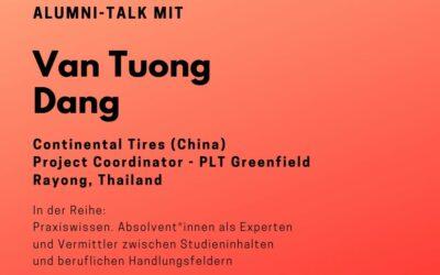 Talk mit Tuong Dang
