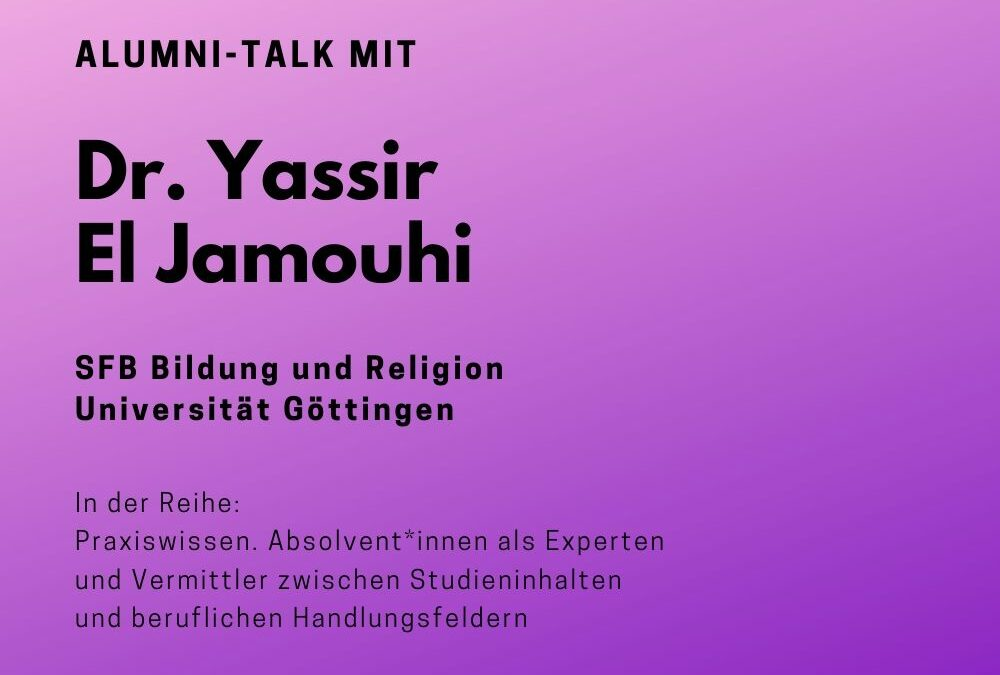 Talk mit Yassir El Jamouhi