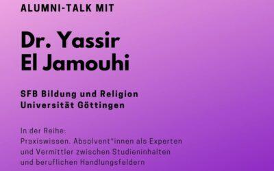 Alumni Talk mit Dr. Yassir El Jamouhi