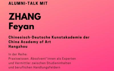 Talk mit ZHANG Feiyan