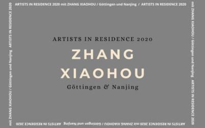 ZHANG Xiaohou zu Gast als Virtual Artist in Residence 2020