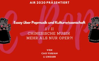 Chinesische Musik – mehr als nur Oper!?